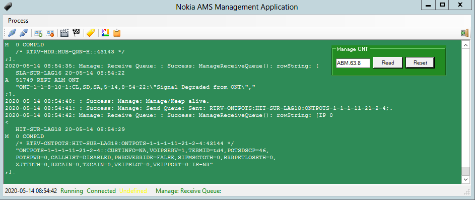 Nokia AMS Manager Application