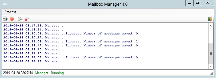 Mail Manager Application