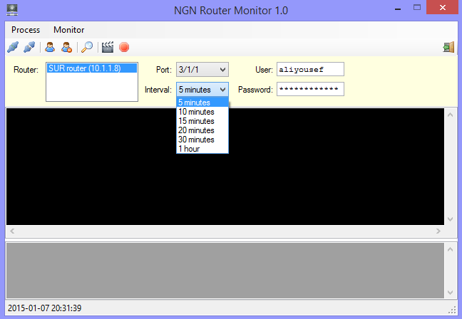 Router Monitor Software